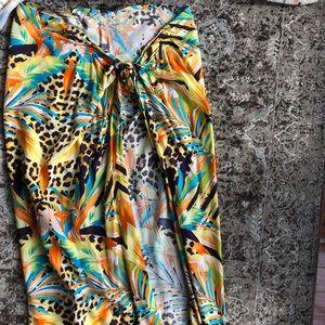 Wrap Skirt coverup
